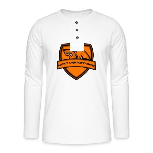 Next Liquidators iphone wallpaper png - Henley shirt met lange mouwen