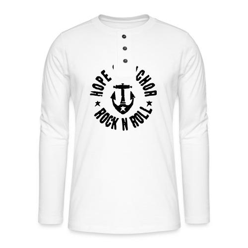 Hope & Anchor - Rock´n´Roll - Henley Langarmshirt