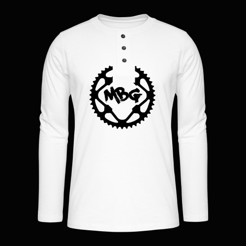 Bike Cog - Henley long-sleeved shirt