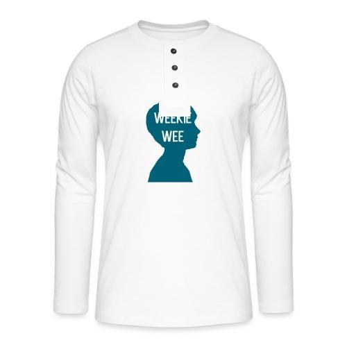 TShirt_Weekiewee - Henley shirt met lange mouwen