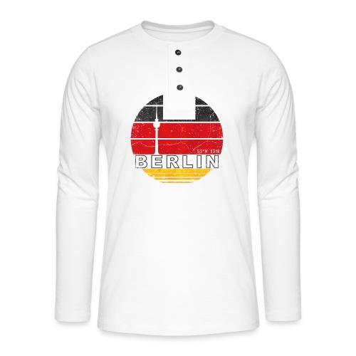 BERLIN, Germany, Deutschland - Henley long-sleeved shirt