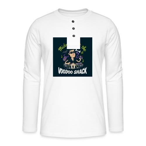 voodooBLACK - Henley Langarmshirt