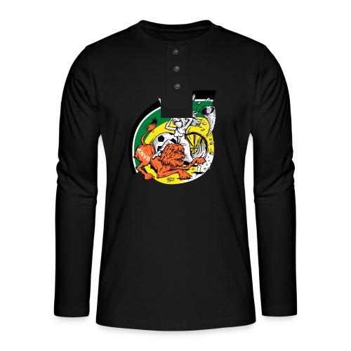 fortunaknvb - Henley shirt met lange mouwen