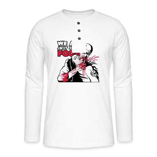 eating_zombie - T-shirt manches longues Henley