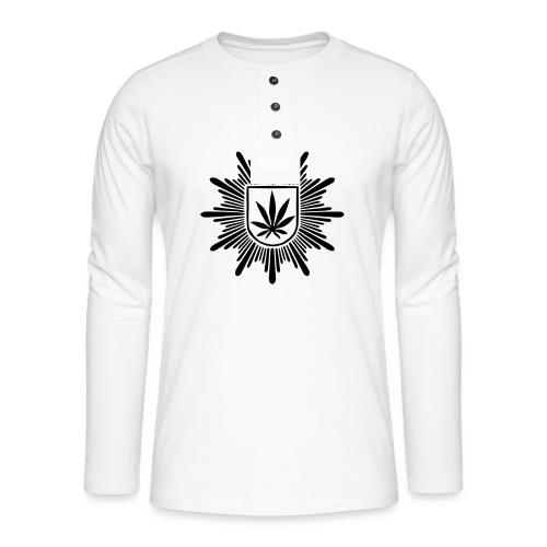 Bundeshanfschutz (pur) - Henley Langarmshirt