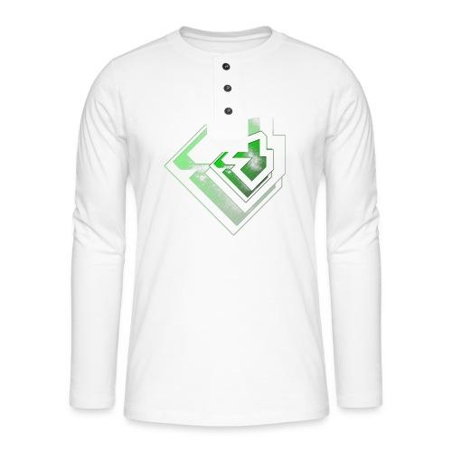 BRANDSHIRT LOGO GANGGREEN - Henley shirt met lange mouwen