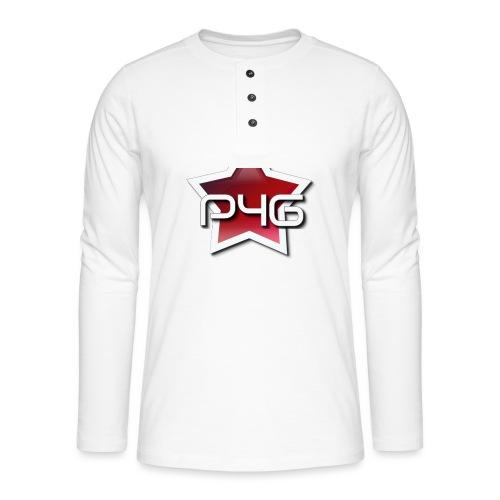 logo P4G 2 5 - T-shirt manches longues Henley