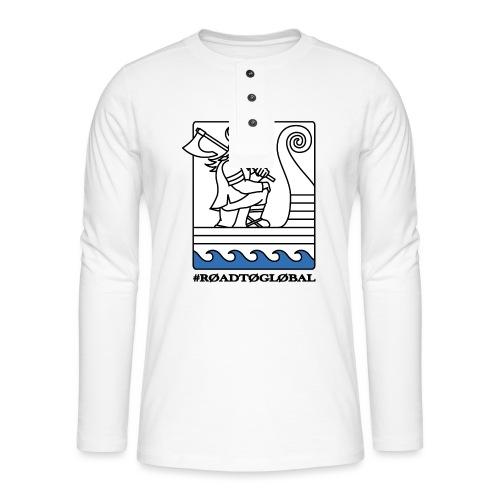 ROAD TO GLOBAL CS:GO - Henley long-sleeved shirt