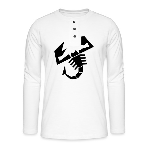 Scorpion - Henley langermet T-skjorte