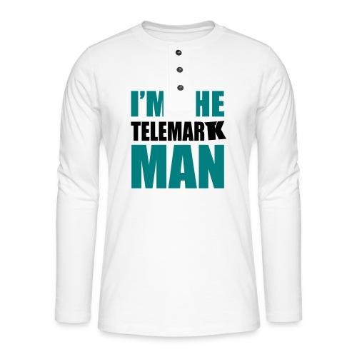2017 Not a skiman - T-shirt manches longues Henley
