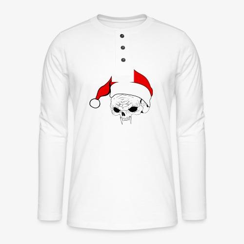 pnlogo joulu - Henley long-sleeved shirt