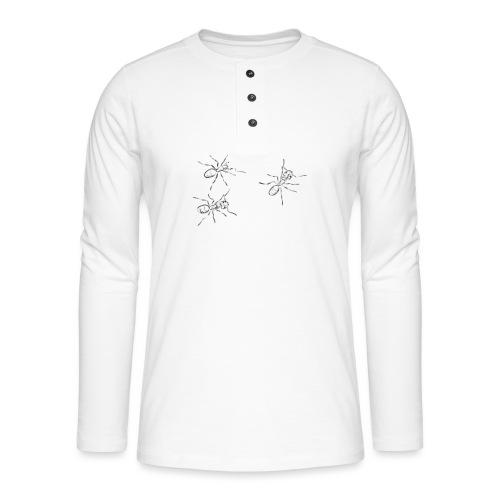 Ants - Henley long-sleeved shirt