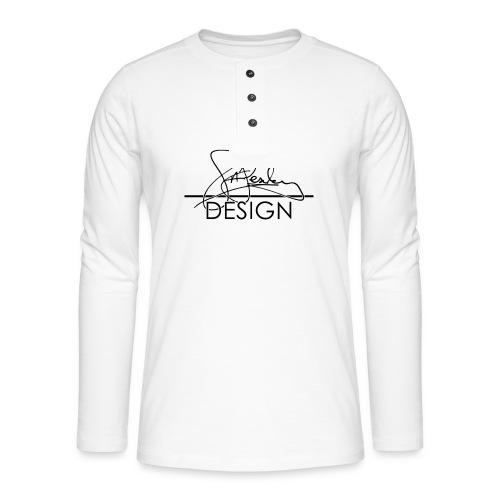sasealey design logo png - Henley long-sleeved shirt