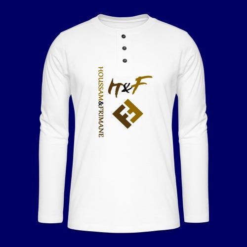 h&F luxury style - Maglia a manica lunga Henley