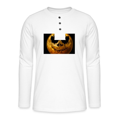 Halloween Mond Shadow Gamer Limited Edition - Henley Langarmshirt