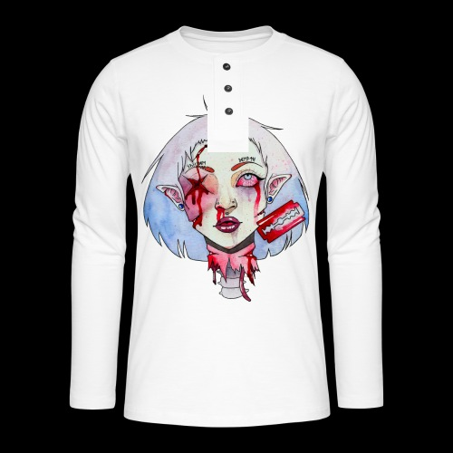 Violence - T-shirt manches longues Henley