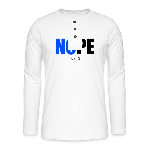 NOPE - T-shirt manches longues Henley