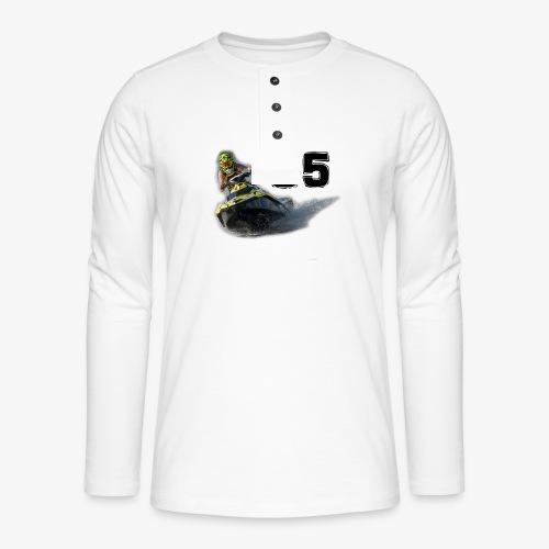 jetski35 - Henley pitkähihainen paita