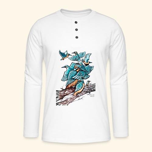 Eisvogel Rudel - Henley Langarmshirt