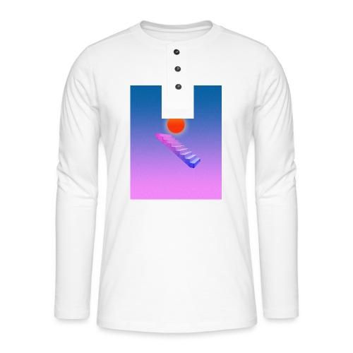 ESCALIER AU CIEL - T-shirt manches longues Henley