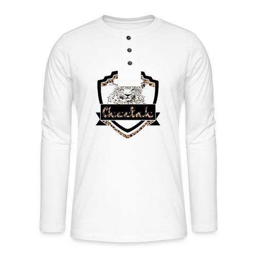Cheetah Shield - Henley long-sleeved shirt