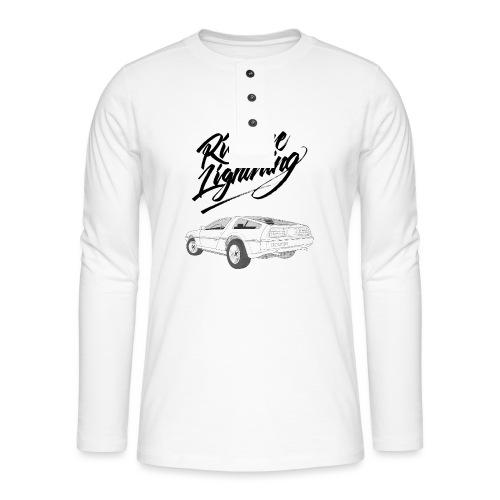 Delorean – Ride The Lightning - Henley Langarmshirt