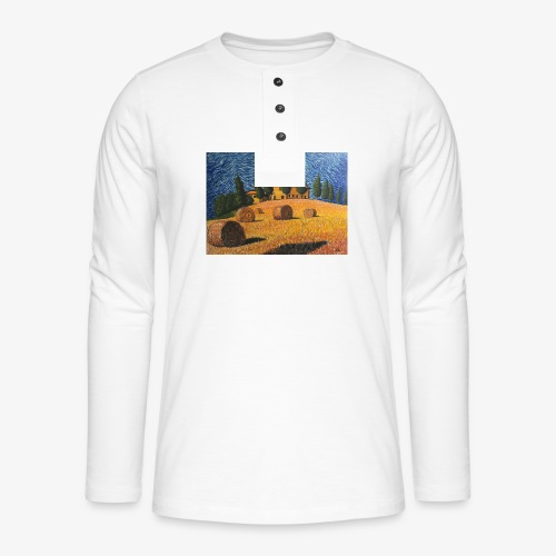 tuscany - Henley long-sleeved shirt