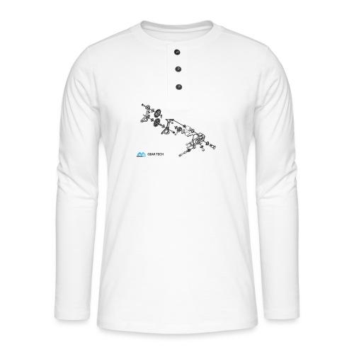 GEAR TECH - Henley long-sleeved shirt