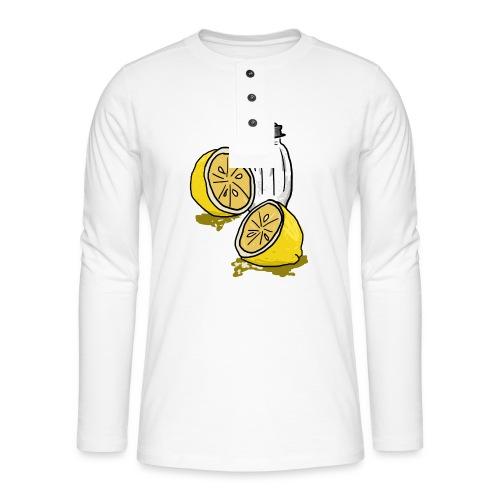 Tequila - Henley shirt met lange mouwen
