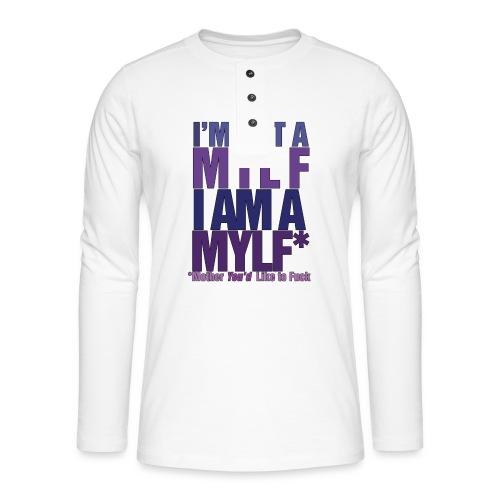 MYLF - Henley langermet T-skjorte