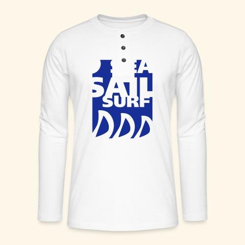 110721ssssrectng - T-shirt manches longues Henley