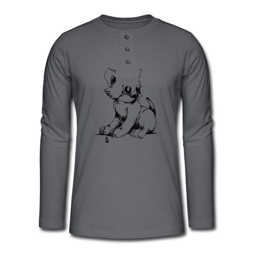 Chaton - T-shirt manches longues Henley