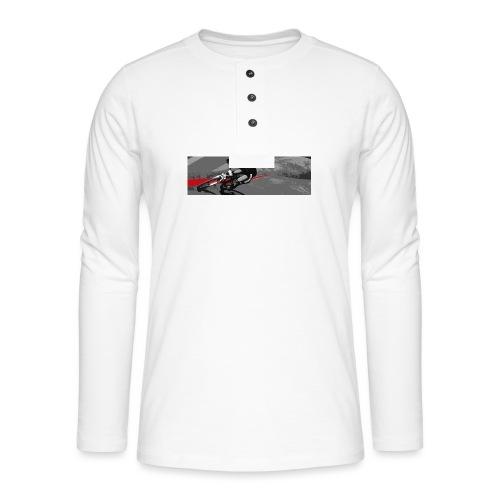 4X Print tee - Henley long-sleeved shirt