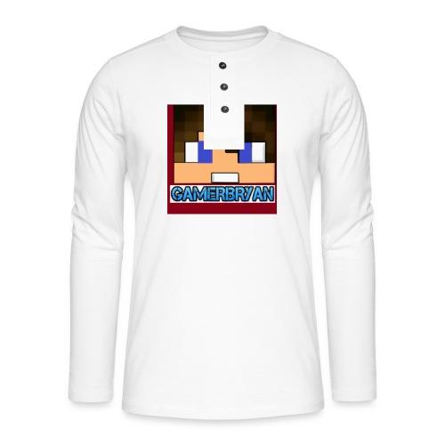 Gamerbryan custom picture - Henley long-sleeved shirt