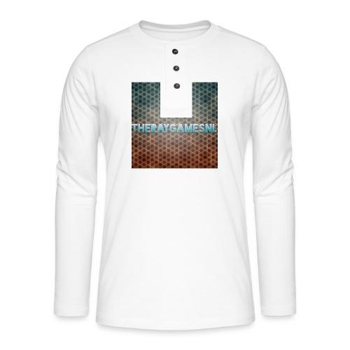 TheRayGames Merch - Henley long-sleeved shirt