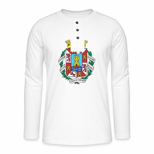Escudo Cartagena - Camiseta panadera de manga larga Henley