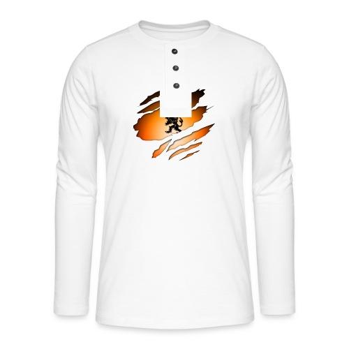 Dutch Inside: Leeuw - Henley shirt met lange mouwen