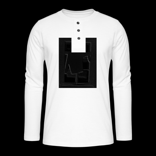 Dark Negative - Henley long-sleeved shirt