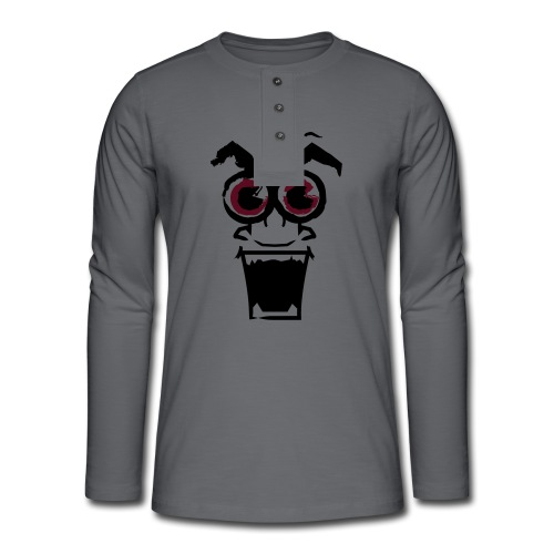 crazybob - T-shirt manches longues Henley