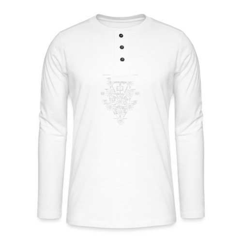 Tree Of Life - T-shirt manches longues Henley