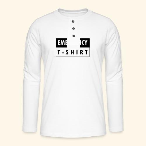 Emergency t-shirt - Henley long-sleeved shirt
