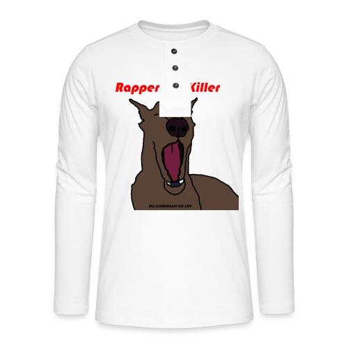 Mac Miller's Dog - Henley shirt met lange mouwen
