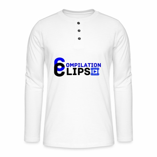 Official CompilationClips - Henley long-sleeved shirt
