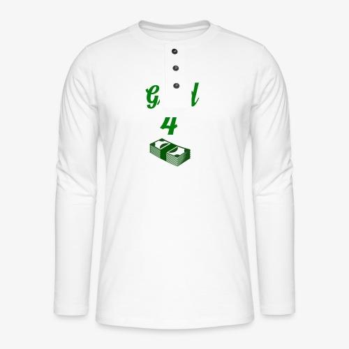 Grind4Money - Henley long-sleeved shirt