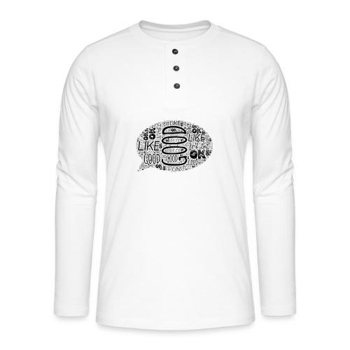 DISEÑO MOTIVACIONAL - GOOD PEOPLE - Camiseta panadera de manga larga Henley