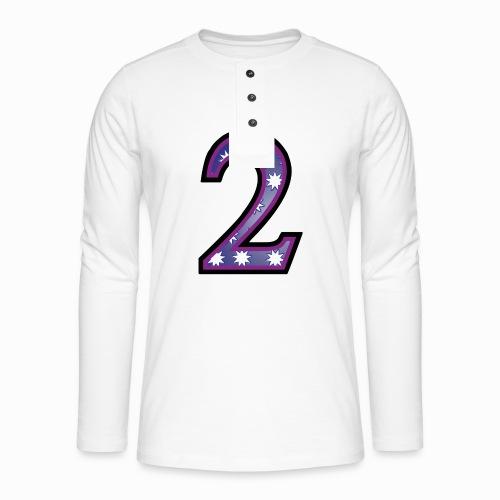 2 fs009 - Henley long-sleeved shirt