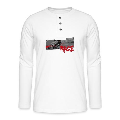 RACE LINE tee - Henley long-sleeved shirt