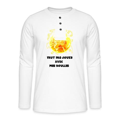 T shirt DBZ - T-shirt manches longues Henley