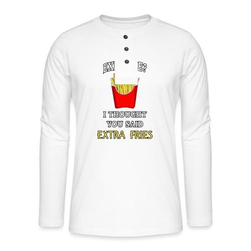 Extra Fries - Henley Langarmshirt