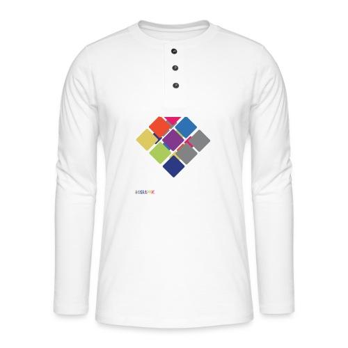 Cube 2 - Henley long-sleeved shirt